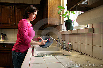 Pratos de lavagem