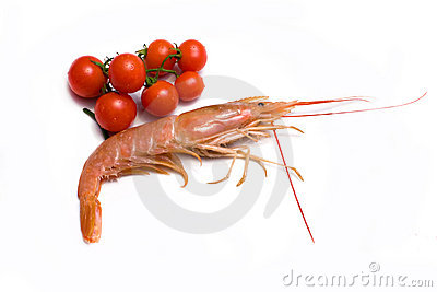 Prawn And Cherry Tomatoes
