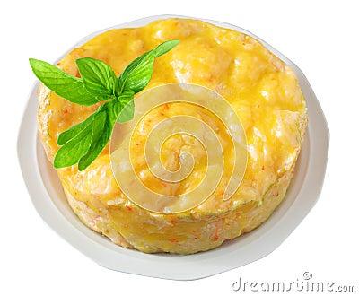Prawn Paste Cake
