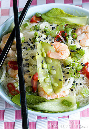 Prawn sweet sour soup