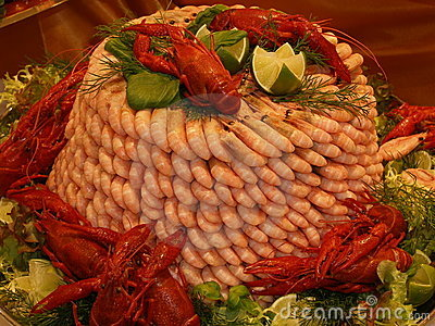 Prawn tower