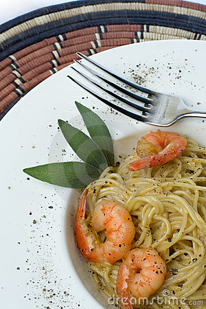 Prawns and Pasta series