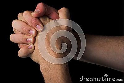 Pray concept religion symbol