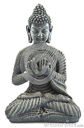 Free Pray With Budha Stock Photography - 21880022