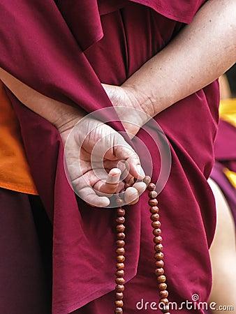 Free Prayer Beads Royalty Free Stock Photos - 50243498
