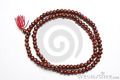 Prayer beads made of Sandalwood