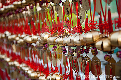 Prayer bells in Hong Kong