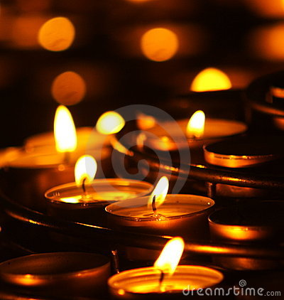 Free Prayer Candles Stock Photography - 1871862