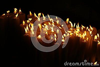 Prayer Candles of Light