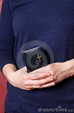 Prayer in hands