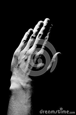 Free Prayer Hands Stock Photography - 839942