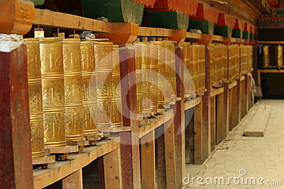Prayer Wheel Royalty Free Stock Photo - Image: 24517605