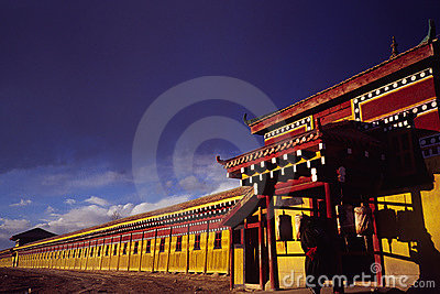 Prayer wheel rooms