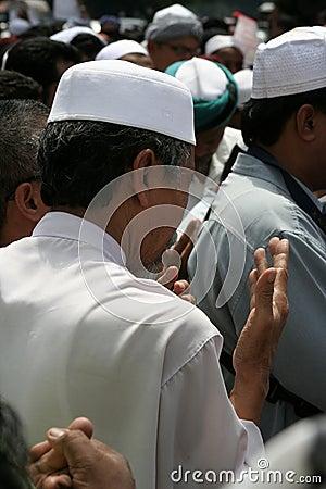 Praying Editorial Photo