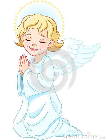 Free Praying Angel Stock Photo - 27377910