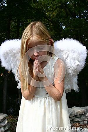 Free Praying Angel Stock Image - 6833191