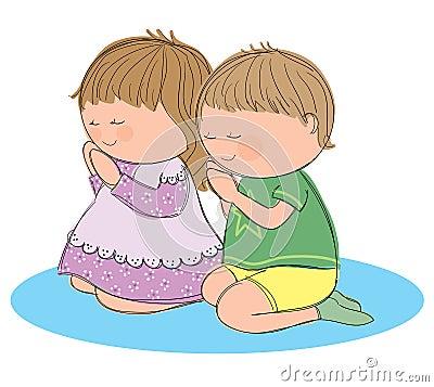 Praying Children Royal...