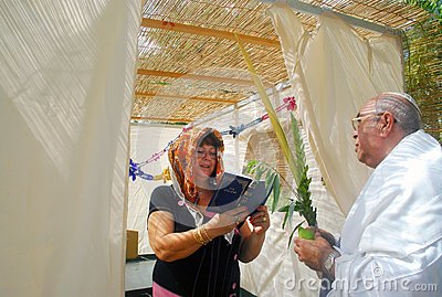 Praying for Jewish Holiday Sukkot