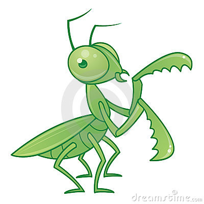 Praying Mantis Character