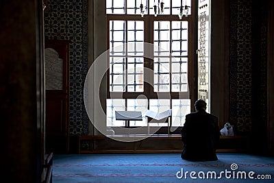 Praying Muslim