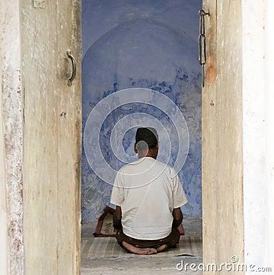 Praying muslim Editorial Photography