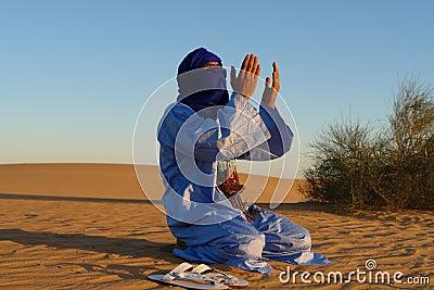 Praying Nomad