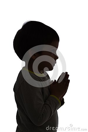 Praying to god