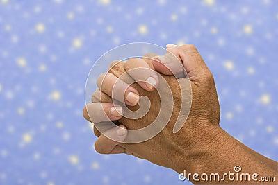 Praying to the heavens