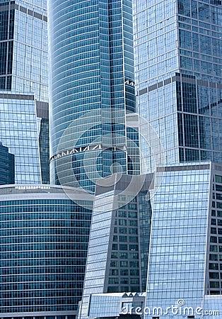 Prédios de escritórios - arquitetura moderna
