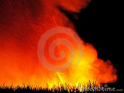 Pre Harvest Sugar Cane Fire