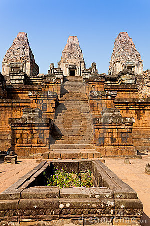 Free Pre Rup Temple In Angkor, Cambodia Royalty Free Stock Image - 20274806