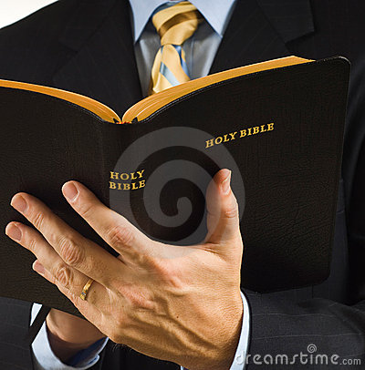 Free Preacher With Bible Royalty Free Stock Photography - 4534547