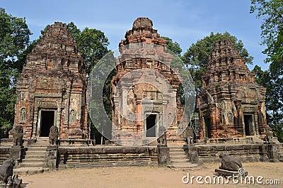 Preah Ko Angkor Roluos Group. Cambodia