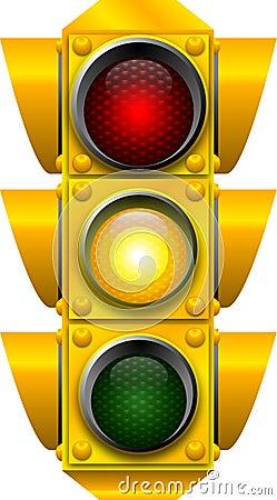 PRECAUCIÓN de la señal de tráfico