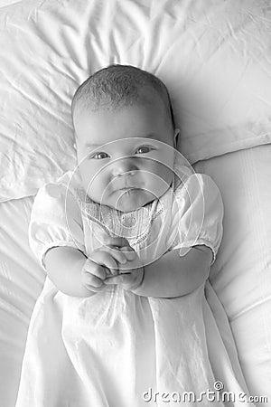 Precious Angel-Black and White