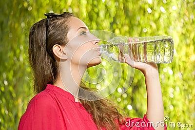 Precious cool water.