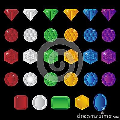 Precious gem stones