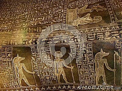 Precious hieroglyphs