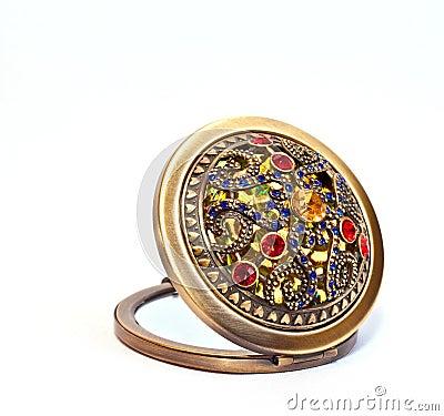 Free Precious Pocket Mirror Stock Images - 13595694