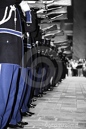 Precision Drill Team Editorial Image