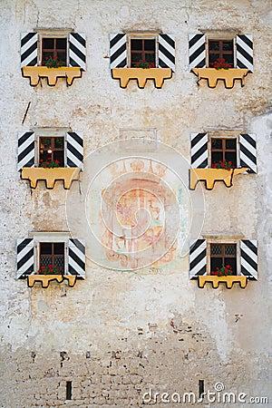 Predjama Castle facade
