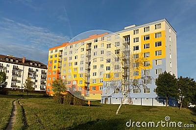 The prefabricated house