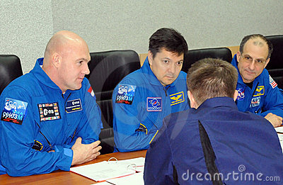 Preflight Class in Baikonur Editorial Photo