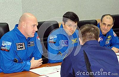Preflight Class in Baikonur Editorial Photo