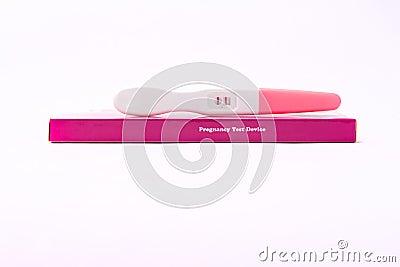 Pregnancy test positive