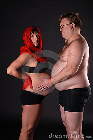 Fat Lady Pregnant 99