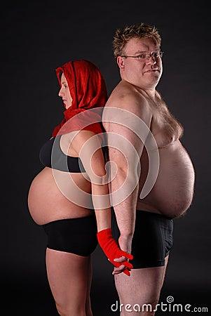 Fat Pregnant Ladies 47