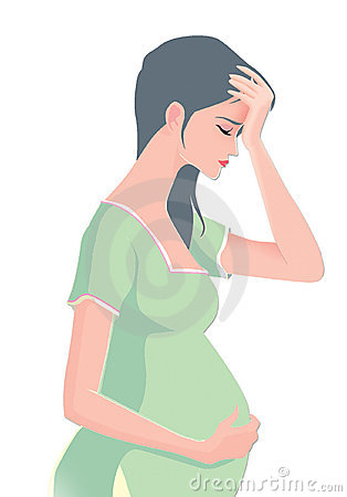 Free Pregnant Nausea Stock Photos - 7300783