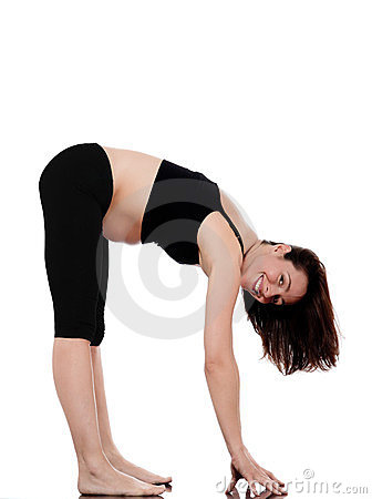 Pregnant Woman exercise stretching