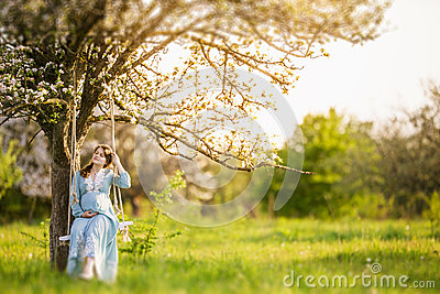 Pregnant woman in the garden stock photo image 50648667 for Gardening while pregnant